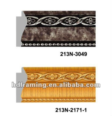 ps picture frame moulding/decorative picture frame moulding