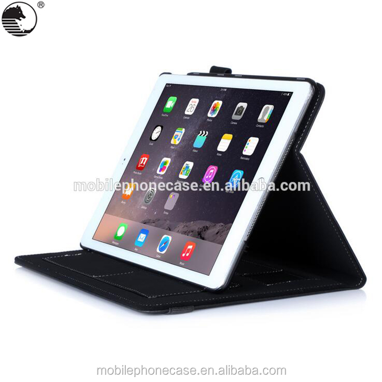 New folio stand tablet cases For iPad Air 2