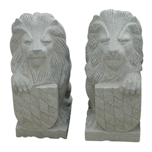 H203 Animal Statue Granite Marble Lion Carving
