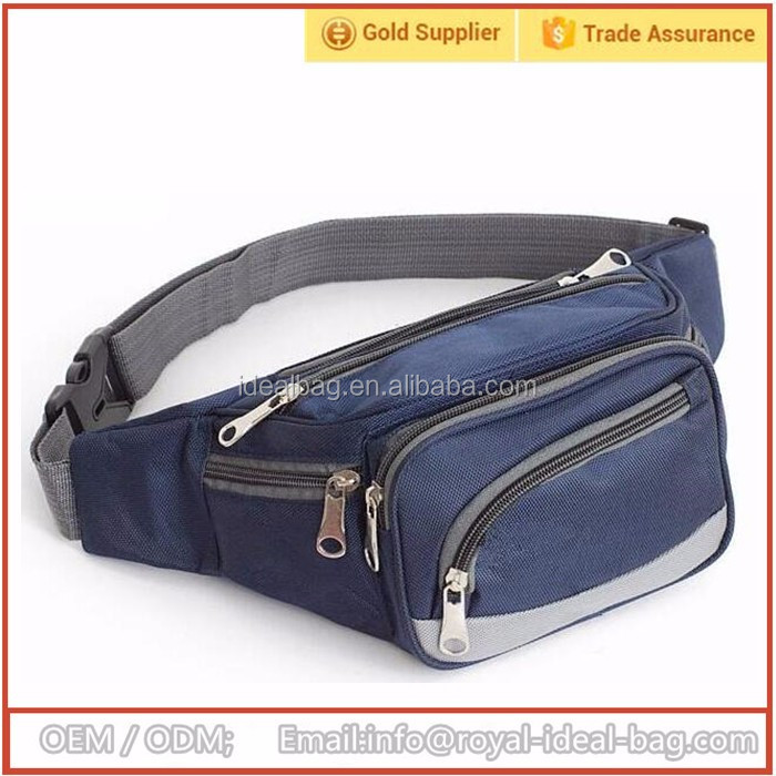 Unisex fashion waist bag sports pack belt pouch wallet waist hip pouch cheap price china factory promotion wholesale