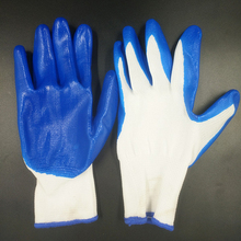 Nitrile Latex Coated Gloves, Anti-Oil And Wear-Resistant Work Gloves