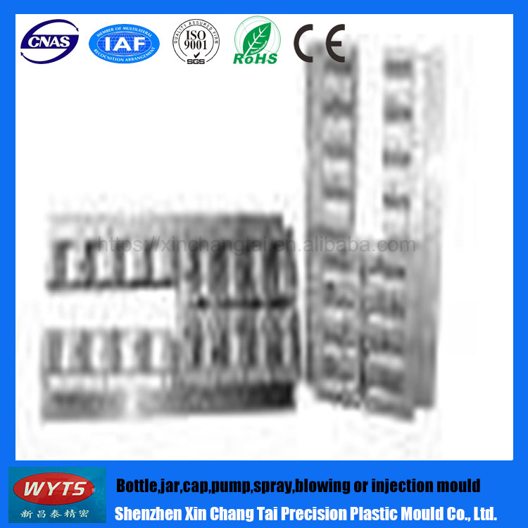 XCT High Qulity Hot Sale Bottle Blowing Mould Plastic Mould Plastic Injection Mould
