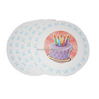 With Color Printed Factory Stock yellow paper plates