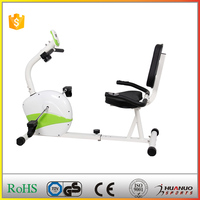 Physical indoor magnetic cross trainer stationary bikes