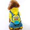 Wholesale Minions pet clothes dog first class fido apparel straps clothes for pets dog