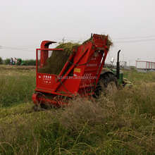 Green silage corn stalk forage harvester for animal fodder
