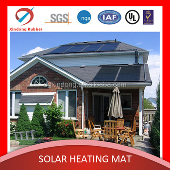 pool water heater china hot sales PVC rubber direct solar panel heating systems