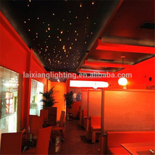 Sauna room starry sky, LED Fiber optic lights ceiling twinkle stars