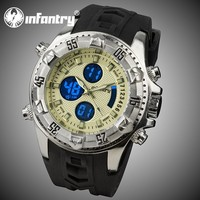 INFANTRY 2016 New Men's Sport Oversize Casual Chronograph Vogue Watch