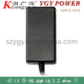 Led power adapter 12v 3A input 220VAC DC with C8 connecter