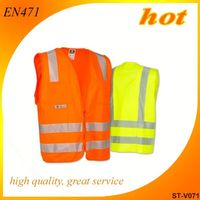 2014 reflective vest cheap safety vest life buoy safety