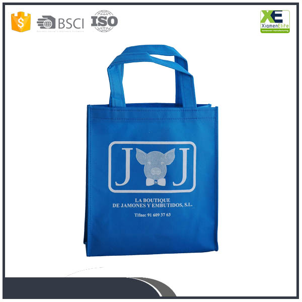 2017 Top Brand Custom Recycable Shopping Promotional Non Woven Bag