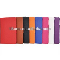 new come elegant lichee print floding stand leather case for ipad mini