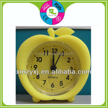 apple food shaped cheap silicone alarm clock