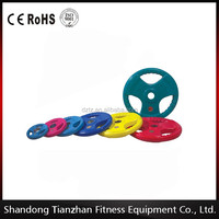 2014 new style Rubber coated Olympic Weight Plate