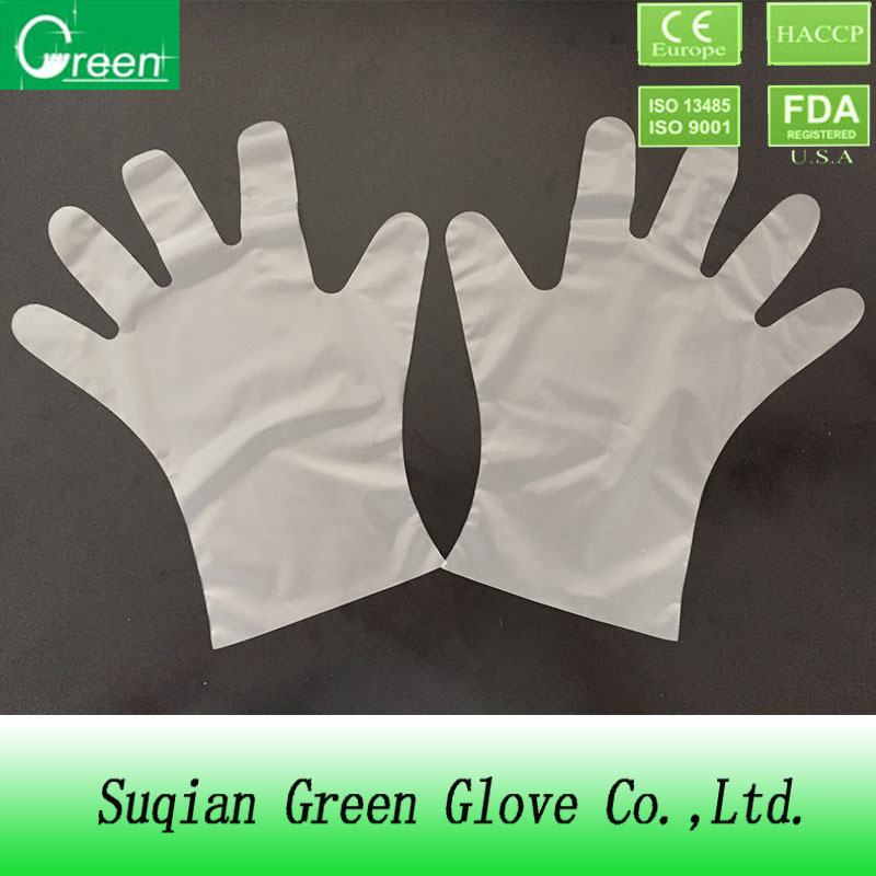 disposable plastic polyethylene PE gloves