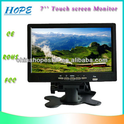 2015 Newest Design LCD Screen Resistive Touch Panel /7 Touch Screen Monitor for honda civic