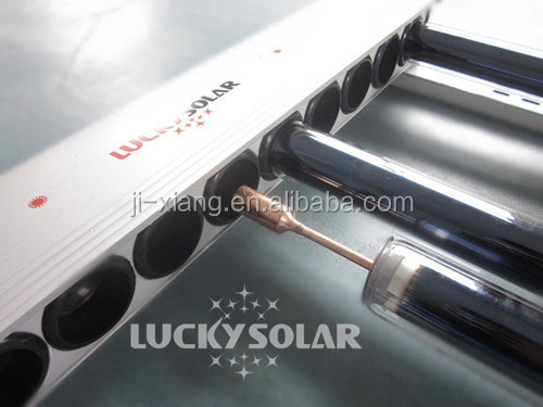 Split heat pipe vacuum tube pressurized Solar Collector