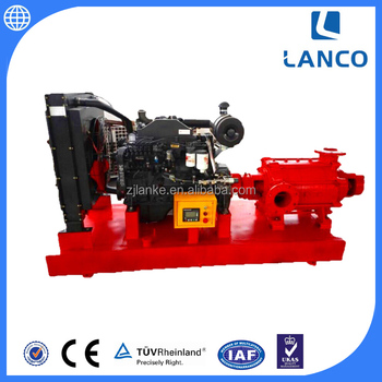 10 Inch Cast Iron Fire Fighting Pump