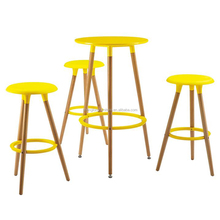 Factory customized cheap bar table sets