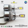 Made in china headlight 6500K Hi/low beam for universal h4 led headlight 100w h7 ed headlight 4000lm