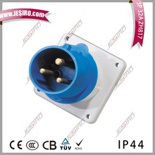 High Quality Mennekes Type Industrial Socket plug for Wall Install