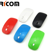 water transfer printing slim mouse , promotion cheap optical mouse, wireless mouse with logo printing