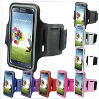 Gym Outdoor Sport Running Jogging Armband Strap For Samsung Galaxy S4 i9500 Jogging Pouch