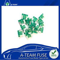 Taiwan Made auto blade car fuse super mini type 30 amp fuses