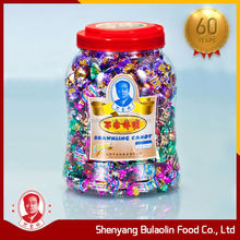 China manufacturing assorted flavour nougat candy coated peanut