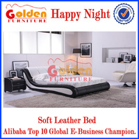 Hot Sale Happy Dream Latest Double Midern Bed Designs G888