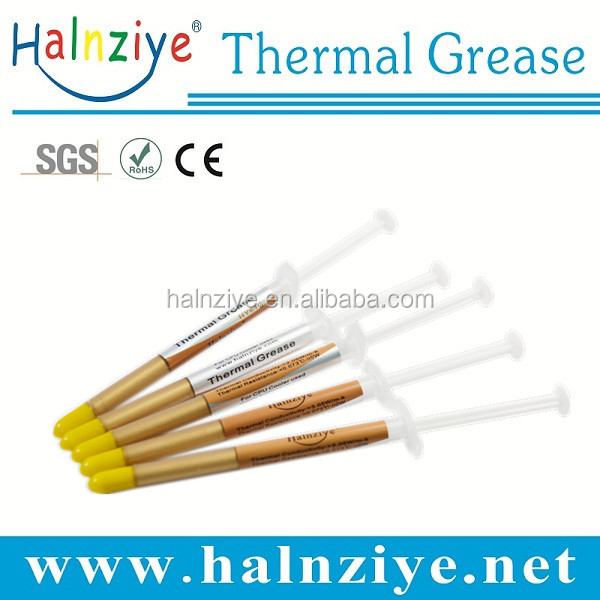 2016 hot sell computer syringes with thermal grease/paste/compound gold