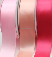 1.5 inch wide decorative polyester satin wedding ribbon