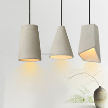Loft Modern Pendant Lights Industrial Cement Pendant Lights led Creative Personality Art Cement Hanging Lamps Cafe Restaurant