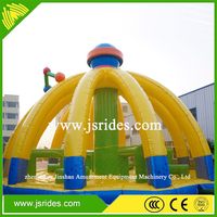 Outdoor playground inflatable jumping bouncy for kids