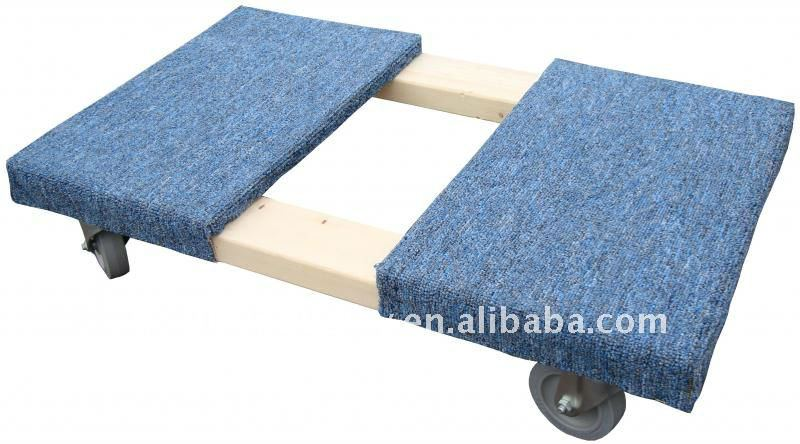 TC0509J Pinewood Mover Dolly With Carpet Ends