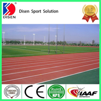 Disen PU free-granules running trcaks synthetic ground covering material