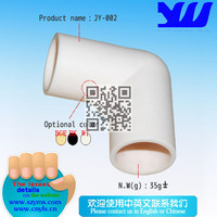Flexible L Plastic Pipe Joints JY-002