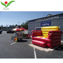 Custom color outdoor advertising Giant inflatable sofa