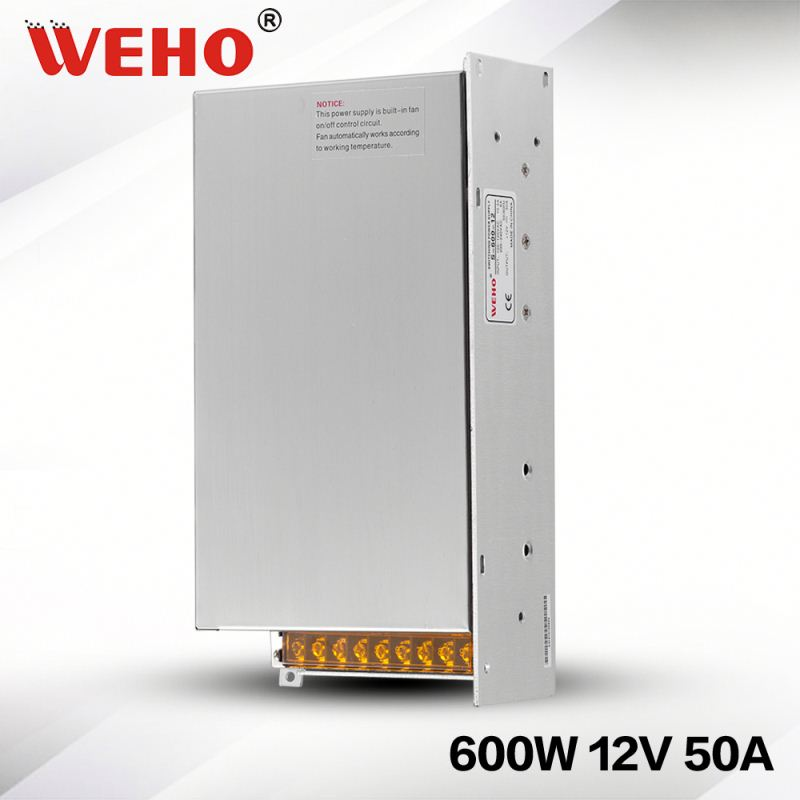 China Gold Supplier ac dc 12v power supply 600w single output psu power <strong>source</strong> 600w 12v