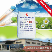 Huntsman titanium dioxide rutile pigment for coating
