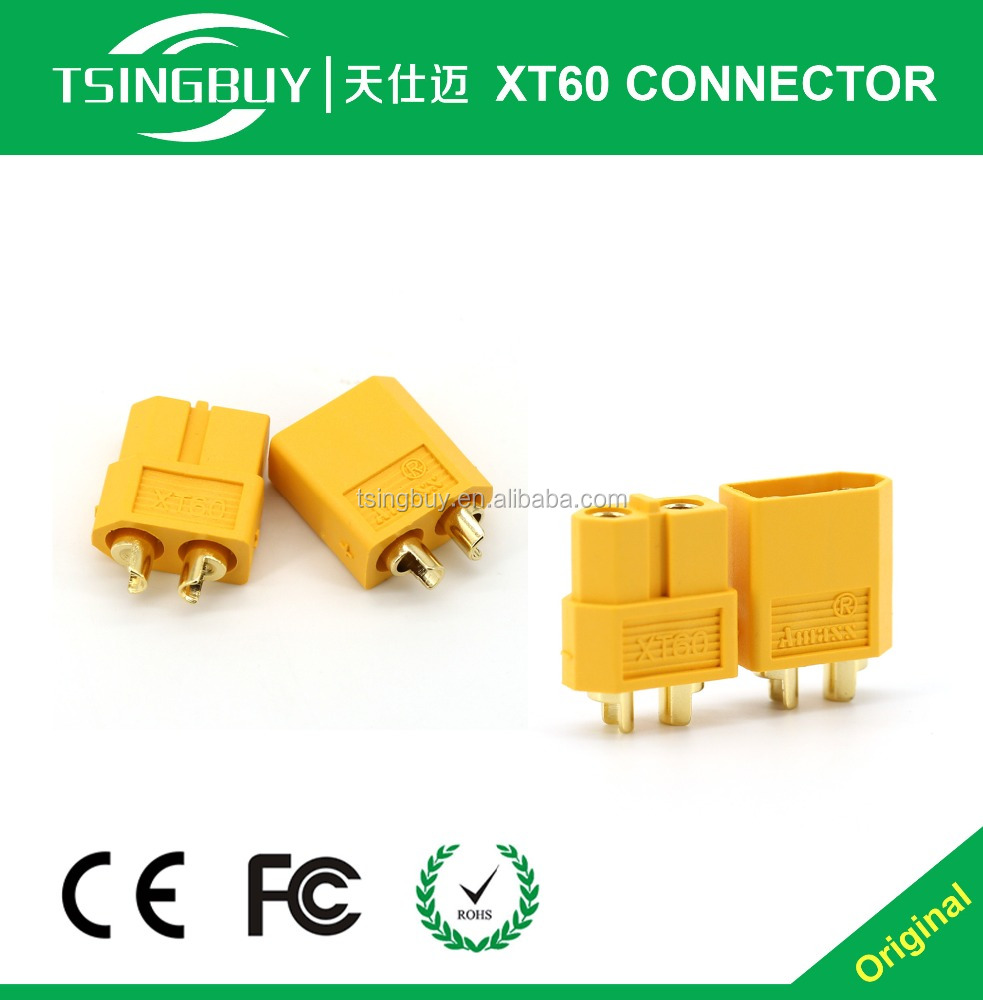 XT60 Connectors No Wires Connectors 5.5mm Male To Female Xt60