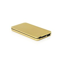 Manufacturing Golden Power Bank 7800Mah For Smartphone