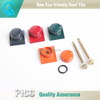 Roofing Tile Accessories Waterproof Plastic Roof Tile Ridge Cap
