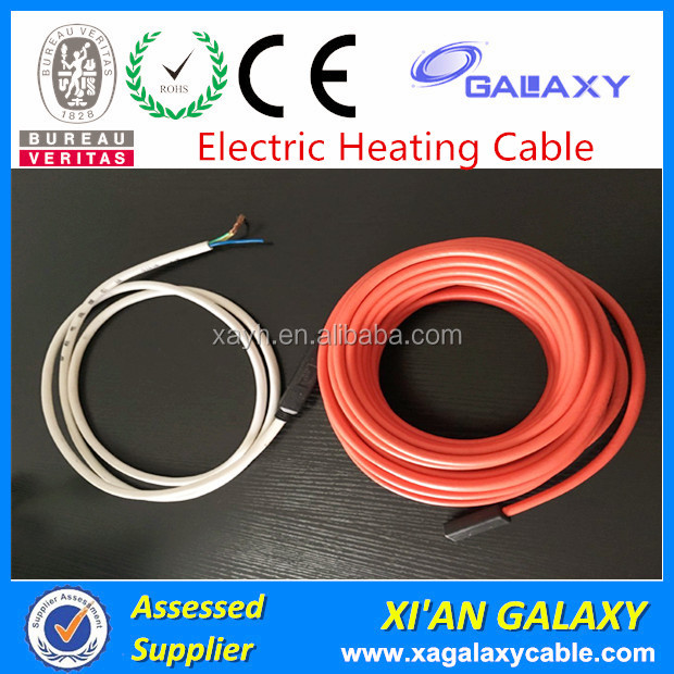 Under Tile Heating Cables Low Voltage Environment Friendly Underfloor Heating Cable