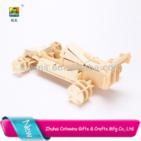 Hobbcraft custom promotion products High quality wooden Description Racing attivities gift go karts for two people