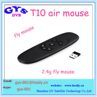2.4G T10 Air Mouse for Android TV Box ,3d wireless air mouse