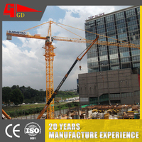 Hoisting travelling models electric mobile tower crane