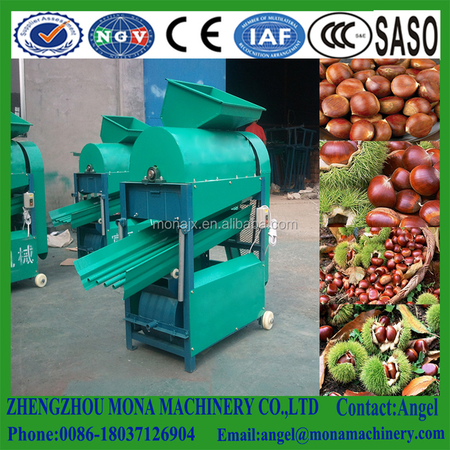 Labor Saving Chestnut Thorn Shell Peeler/Chestnut Shelling Machine/Chestnut Thorn Shell Removing Machine
