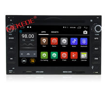 Gold supplies quad-core processor android 7.1 car multimedia player for Peugeot 307